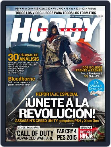 Hobby Consolas (Digital) October 20th, 2014 Issue Cover