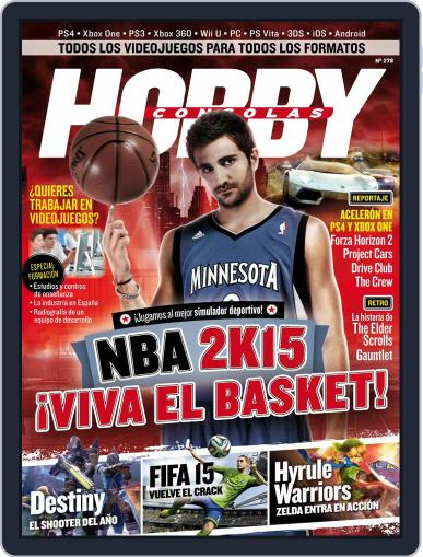 Hobby Consolas (Digital) August 22nd, 2014 Issue Cover
