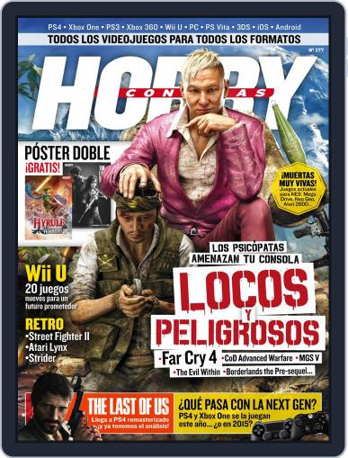 Hobby Consolas (Digital) July 21st, 2014 Issue Cover