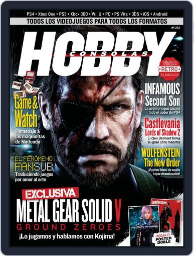 Hobby Consolas February 24th, 2014 Digital Back Issue Cover