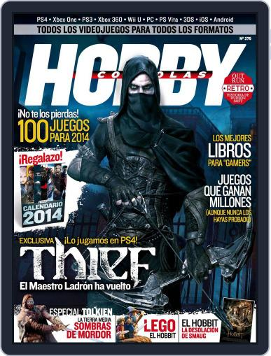 Hobby Consolas (Digital) December 26th, 2013 Issue Cover