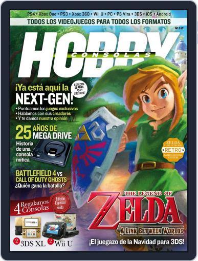 Hobby Consolas (Digital) November 27th, 2013 Issue Cover