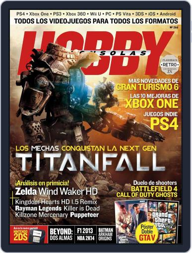 Hobby Consolas (Digital) September 18th, 2013 Issue Cover