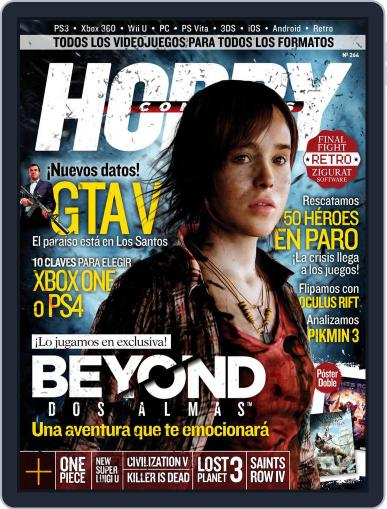 Hobby Consolas July 22nd, 2013 Digital Back Issue Cover