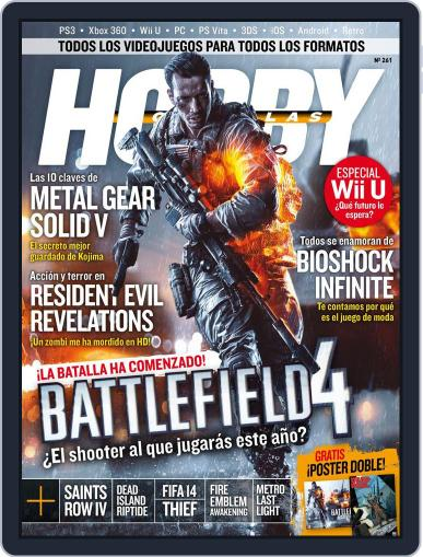 Hobby Consolas (Digital) April 21st, 2013 Issue Cover