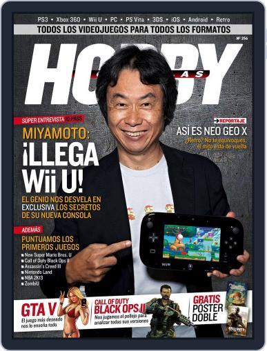 Hobby Consolas November 30th, 2012 Digital Back Issue Cover