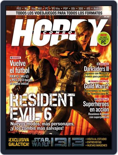 Hobby Consolas (Digital) August 16th, 2012 Issue Cover