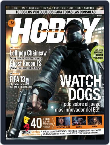 Hobby Consolas June 25th, 2012 Digital Back Issue Cover