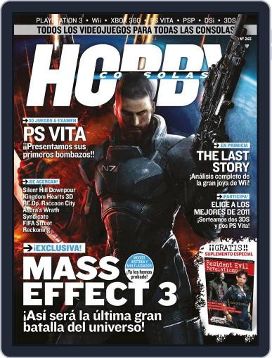 Hobby Consolas January 27th, 2012 Digital Back Issue Cover