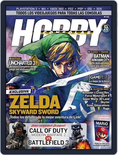 Hobby Consolas (Digital) October 27th, 2011 Issue Cover