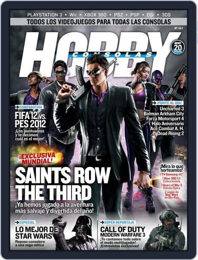 Hobby Consolas September 23rd, 2011 Digital Back Issue Cover