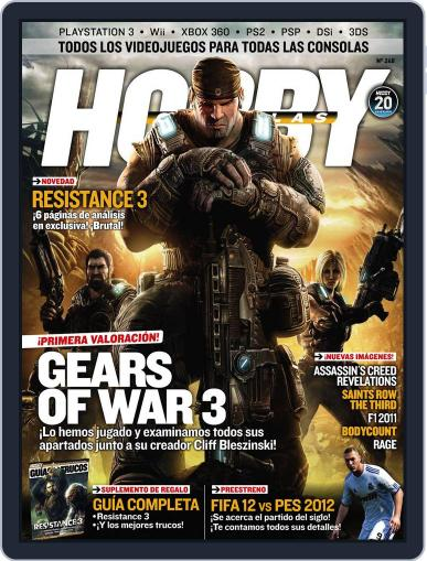 Hobby Consolas (Digital) August 24th, 2011 Issue Cover