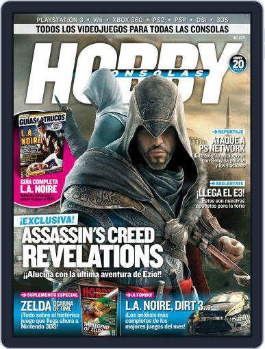 Hobby Consolas May 27th, 2011 Digital Back Issue Cover