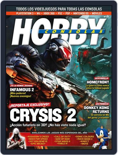 Hobby Consolas (Digital) November 26th, 2010 Issue Cover
