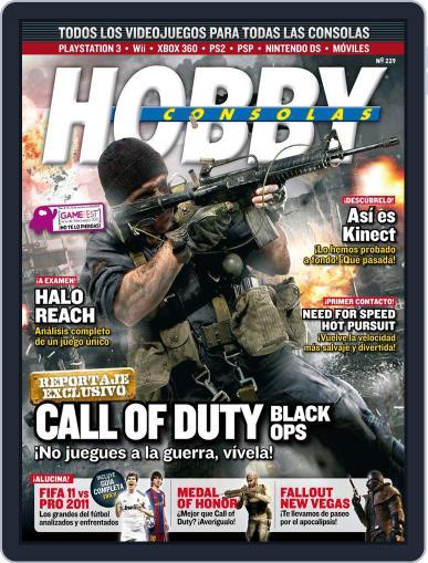 Hobby Consolas September 23rd, 2010 Digital Back Issue Cover