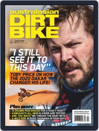 Australasian Dirt Bike (Digital) April 1st, 2020 Issue Cover