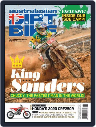 Australasian Dirt Bike February 1st, 2020 Digital Back Issue Cover