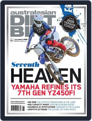 Australasian Dirt Bike (Digital) November 1st, 2019 Issue Cover