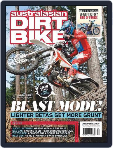 Australasian Dirt Bike October 1st, 2019 Digital Back Issue Cover