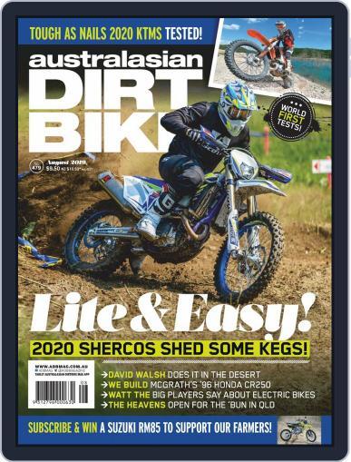 Australasian Dirt Bike (Digital) August 1st, 2019 Issue Cover