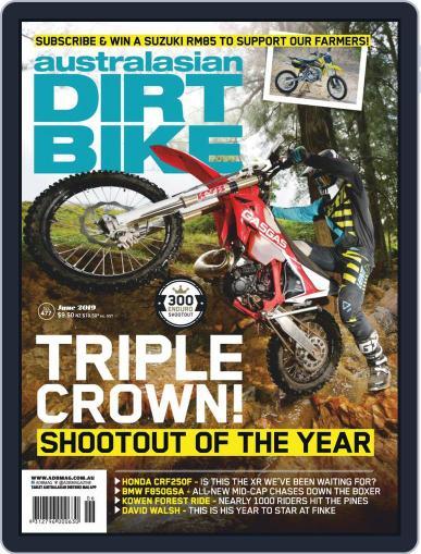 Australasian Dirt Bike (Digital) June 1st, 2019 Issue Cover
