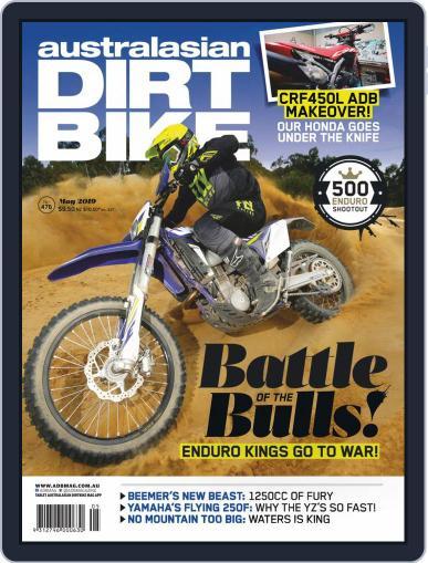 Australasian Dirt Bike May 1st, 2019 Digital Back Issue Cover