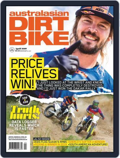 Australasian Dirt Bike April 1st, 2019 Digital Back Issue Cover
