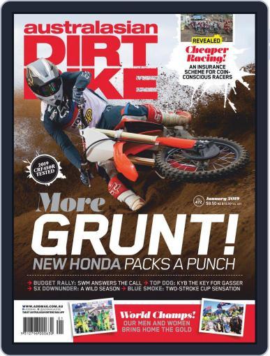 Australasian Dirt Bike (Digital) January 1st, 2019 Issue Cover