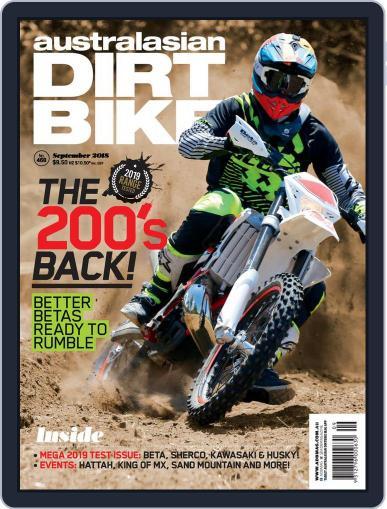 Australasian Dirt Bike (Digital) September 1st, 2018 Issue Cover