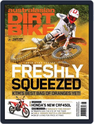 Australasian Dirt Bike (Digital) August 1st, 2018 Issue Cover
