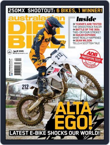 Australasian Dirt Bike April 1st, 2018 Digital Back Issue Cover