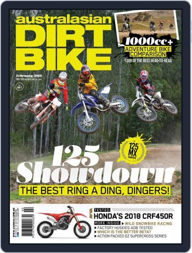 Australasian Dirt Bike February 1st, 2018 Digital Back Issue Cover