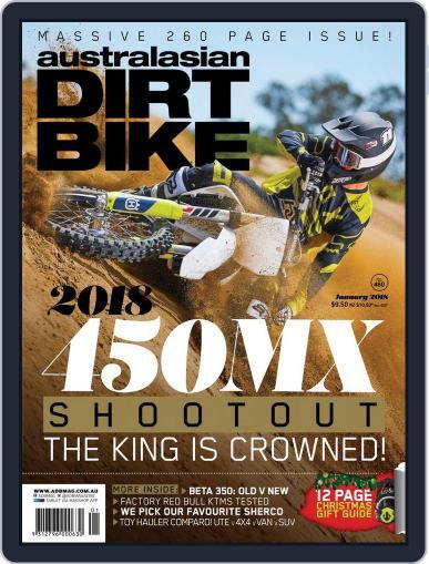 Australasian Dirt Bike (Digital) January 1st, 2018 Issue Cover