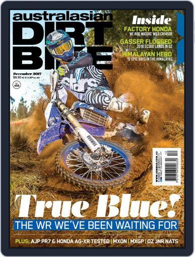 Australasian Dirt Bike December 1st, 2017 Digital Back Issue Cover