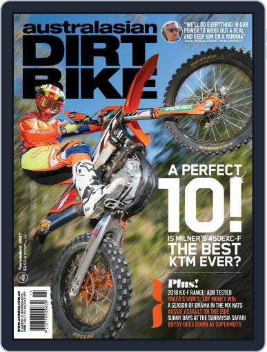 Australasian Dirt Bike (Digital) November 1st, 2017 Issue Cover