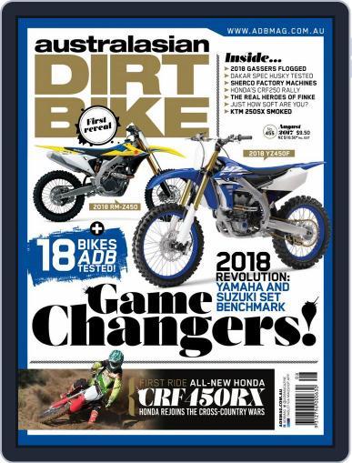 Australasian Dirt Bike (Digital) August 1st, 2017 Issue Cover