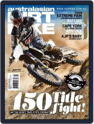 Australasian Dirt Bike April 1st, 2017 Digital Back Issue Cover