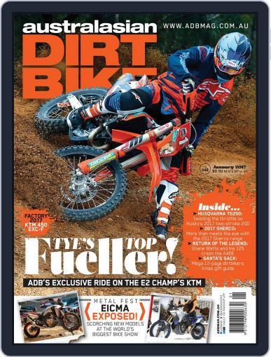 Australasian Dirt Bike January 1st, 2017 Digital Back Issue Cover