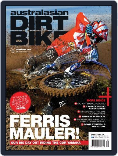 Australasian Dirt Bike (Digital) November 1st, 2016 Issue Cover