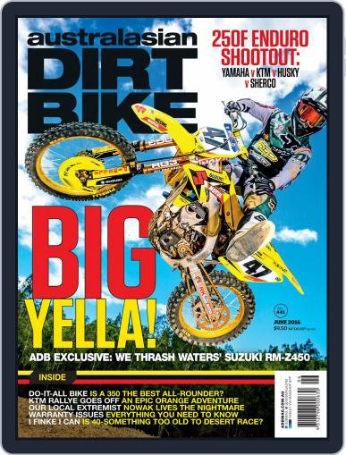 Australasian Dirt Bike (Digital) May 2nd, 2016 Issue Cover