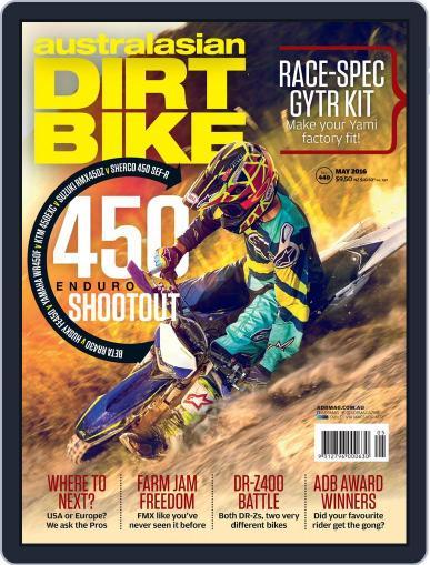 Australasian Dirt Bike (Digital) April 4th, 2016 Issue Cover