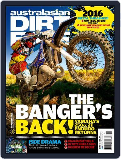 Australasian Dirt Bike (Digital) November 1st, 2015 Issue Cover