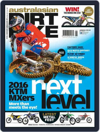 Australasian Dirt Bike (Digital) July 5th, 2015 Issue Cover