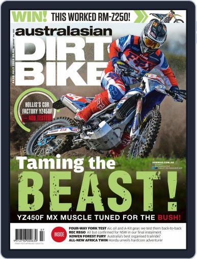 Australasian Dirt Bike (Digital) May 31st, 2015 Issue Cover