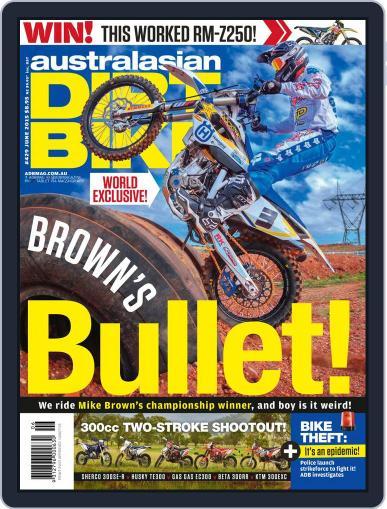 Australasian Dirt Bike (Digital) May 3rd, 2015 Issue Cover