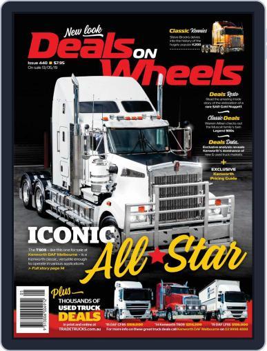Deals On Wheels Australia June 1st, 2019 Digital Back Issue Cover