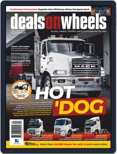 Deals On Wheels Australia May 1st, 2019 Digital Back Issue Cover