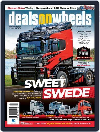 Deals On Wheels Australia (Digital) January 1st, 2019 Issue Cover