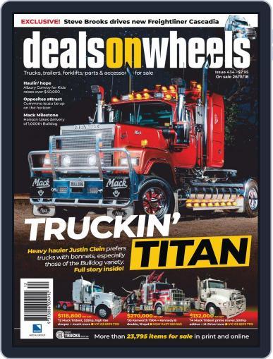 Deals On Wheels Australia (Digital) December 1st, 2018 Issue Cover