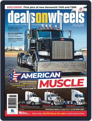 Deals On Wheels Australia (Digital) November 1st, 2018 Issue Cover